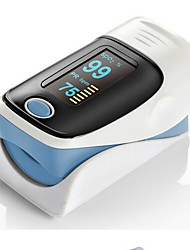 RZ001 OLED Display Fingertip Pulse Oximeter SpO2 Oxygen Monitor for Healthcare Home Use - COLORMIX