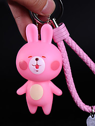 Bag / Phone / Keychain Charm Bear Cute Cartoon Toy Phone Strap PVC