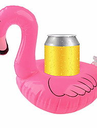 Inflatable Coasters Flamingos Aquatic Float Drink Cup Holder Tray For Summer Water Toy Pool Party Supplies