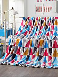 Super Suave Geometrico Poliéster cobertores