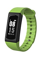 YY W4S Smart Bracelet Water Resistant / Calories Burned Pedometers Exercise Record Sports Heart Rate Monitor Touch for Ids Android