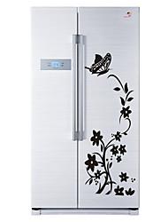 Цветочные мотивы/ботанический Романтика Мода Наклейки Простые наклейки Декоративные наклейки на стены Наклейки на холодильник материал