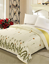 Plants Material 1pc Duvet Cover
