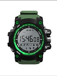 Smart WatchEtanche Longue Veille Pédomètres Sportif Ecran tactile Suivi de distance Information Contrôle des Messages Contrôle de