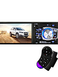 4012b rádio carro mp4 mp5 player1 din hd 4.1 polegadas video player com retrovisor com câmera bluetooth controle remoto stereo aux fm