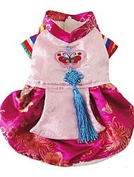 Chien Robe Vêtements pour Chien Décontracté / Quotidien Princesse Rose