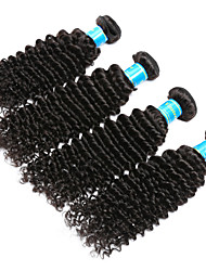 Vinsteen Brazilian Deep Wave Hair Weave 4 Bundles Virgin Human Hair Extensions Natural Human Hair Wefts Cheap Human Hair Bundles