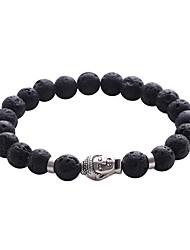 Men's Women's Strand Bracelet Jewelry Friendship Adjustable Personalized Multi-ways Wear Handmade Turquoise Circle Jewelry For Casual