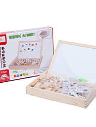 Building Blocks For Gift  Building Blocks Natural Wood 6 Years Old and Above 3-6 years old Toys