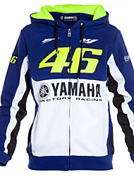 Yamaha M1 Motorcycle Riding Jacket VR46 Fleece Warm Sweater Rossi Riding
