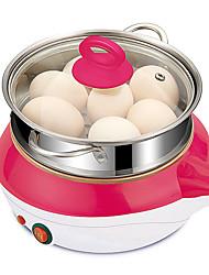 Lingrui Egg Cooker Single Eggboilers Multifunction Touch Switch Creative Low Noise Power light indicator Detachable Upright Design 220V