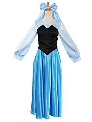 Une Pièce/Robes Princesse Conte de Fée Fête / Célébration Déguisement d'Halloween Rétro Other Robes Halloween Carnaval Féminin Unisexe