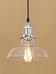 Luzes pendentes tradicional / clássico / vintage / sala de jantar retro / sala de estudo / escritório / corredor de metal