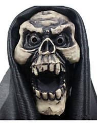 Pour Halloween Bal Masqué Squelette/Crâne Cosplay Fête / Célébration Déguisement d'Halloween Noir Blanc Rétro Masques Halloween Carnaval
