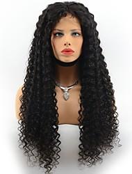 Parrucche vergini brasiliane verdi ondulate profonde davanti merletto parrucche per capelli nere naturali naturali colore nero parrucche