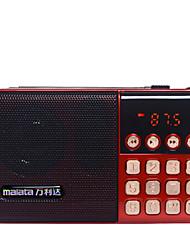 T6 Radio portatil Reproductor MP3 Tarjeta TF