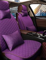 Assento do assento do carro Assento da tampa do assento quatro estações do linho geral cercado por um carro da família de cinco lugares