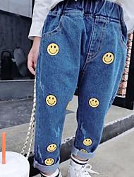 Pantaloni Da ragazza Con stampe Primavera Autunno