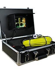 """эндоскоп трубопровод система контроля 7"""" 30й дренажного канализационных водонепроницаемая камера с 12 светодиодными фонарями"""