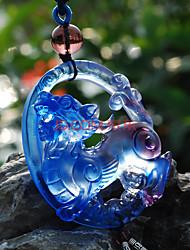 Diy pendentes automotivos pingente de carro de tropas bravas de estilo chinês&Ornamentos de vidro
