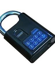 Ko liga eletrônica impressão digital senha cadeado sem chave dc eletrônico porta fechadura conta armazém logística carro tranca