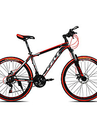 Горный велосипед Велоспорт 21 Скорость 26 дюймы/700CC SHIMANO EF-51-7 Двойной дисковый тормоз Передняя вилка с амортизациейБез