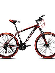 Mountain Bike Cycling 21 Speed 26 Inch/700CC SHIMANO EF-51-7 Double Disc Brake Suspension Fork Non-Damping Ordinary/Standard Anti-slip