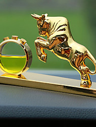 Ornamentos automotivos diy pingente de carro de perfume animal de estilo chinês& Ornamentos de metal