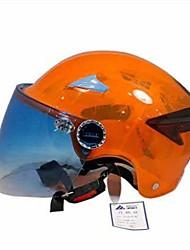 ADLO 0573 Motorcycle Helmet New Anti-Drop Transparent Shell Anti-UV Breathable Summer Helmet Lady