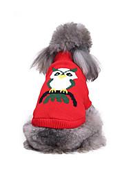 Cane Maglioni Abbigliamento per cani Casual Animali