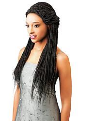Ombre senegalese крючок вязания крючком волос 3pieces 22inch синтетический двухцветный афро pre-twist оплетка для укладки волос для