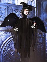 Halloween fantasmes suspendus accessoires d'horreur halloween objets de décoration contrôle sonore photorécepteur oeil peut flash l'oeil