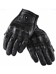 RUIGI Motorcycle Gloves Four Seasons Riding Knight Motorcycle Sheepskin Gloves Men And Women Racing Gloves Touchable Screen