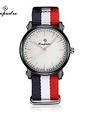 Жен. Детские Модные часы Кварцевый Материал Группа Винтаж Повседневная Разноцветный