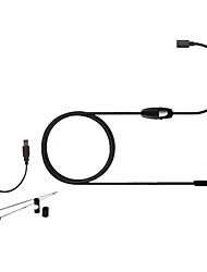 1.5m hd android lentille caméra 640p endoscope endoscope serpent 7mm 6 conduit l'inspection ip67 imperméable à l'eau