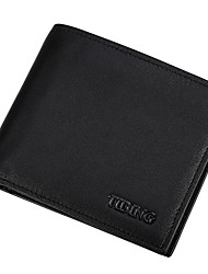 Men's Leather Wallet cross section eighty percent off short casual head layer cowhide Wallet Purse Wallet fashion simple driving license