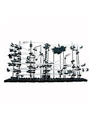 Гусеничный мини-погрузчик Набор для творчества Обучающая игрушка Трек вагоностроительный Треки Игрушки на солнечных батареяхПластик