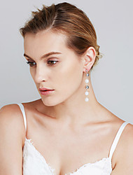 Women's Earrings Set Imitation Pearl Heart Friendship Movie Jewelry Euramerican Fashion Personalized Chrismas Copper Circle Jewelry For