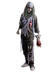Costumes de Cosplay Squelette/Crâne Zombie Cosplay Fête / Célébration Déguisement d'Halloween Rétro Haut Pantalon Halloween Carnaval