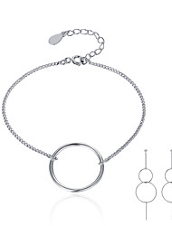 Beadia Jewelry Set 925 Sterling Silver Bracelet & Earrings For Women