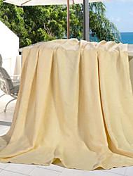 Шерсть Сплошной цвет Полиэфир одеяла