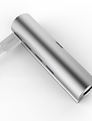 Unitek 3 portas Hub USB USB 3.0 com Ethernet Hub de dados