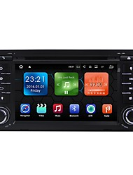 android 7.1.2 carro dvd player sistema multimídia 7 polegadas quad core wifi ex-3g dab para audi a3 2003-2012 we7047