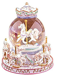 Music Box Toys Horse Carousel Cartoon Not Specified 1 Pieces