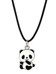 Муж. Жен. Ожерелья с подвесками Бижутерия Панда Сплав Животный дизайн обожаемый Бижутерия Назначение Для вечеринок Для клуба