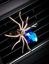 Parabens da grade do ar do perfume do perfume natural do ouro diamante natural purificador cremoso do automóvel