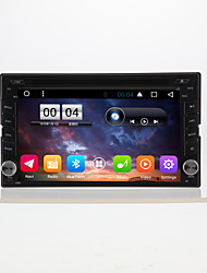 6.2 general 2 din táctil capacitivo lcd coche dvd player android 6.0
