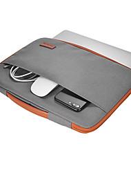 dodocool 13-13.3 pulgadas portátil nailon cremallera manga ultrabook llevar estuche portátil cubierta de la bolsa protectora con pu mango