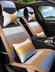 мультфильм радуга кожа шелк материал автомобильное сиденье подушка сиденье покрытие сиденье четыре сезона общий все вокруг-4 #