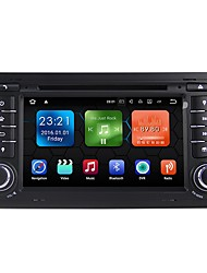 android 7.1.2 carro dvd player sistema multimídia 7 polegadas quad core wifi ex-3g dab para audi a4 2002-2007 we7078